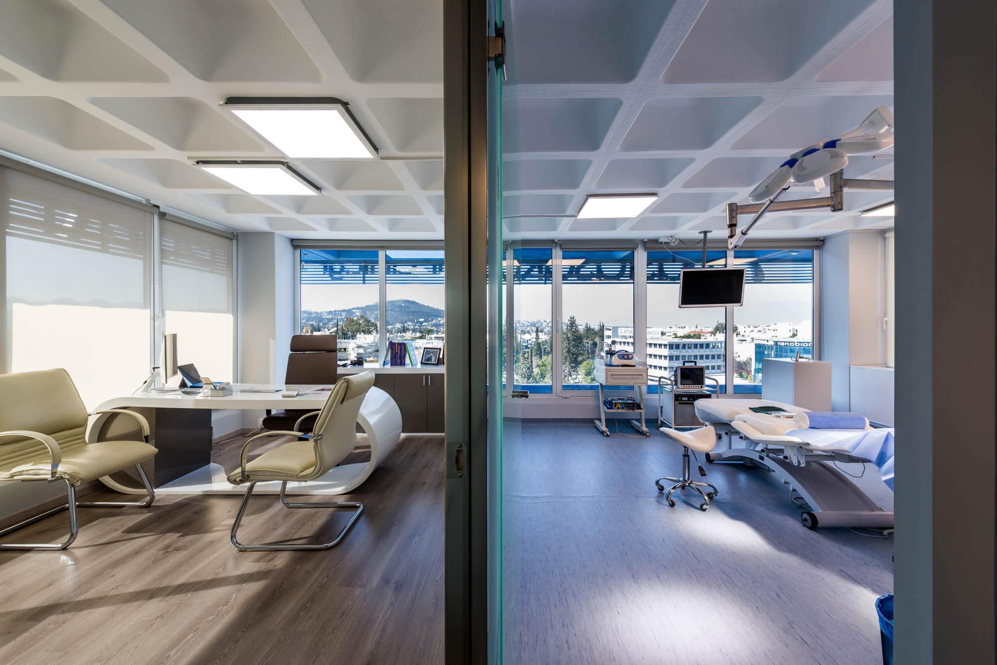 Γραφείο ιατρού & χειρουργείο