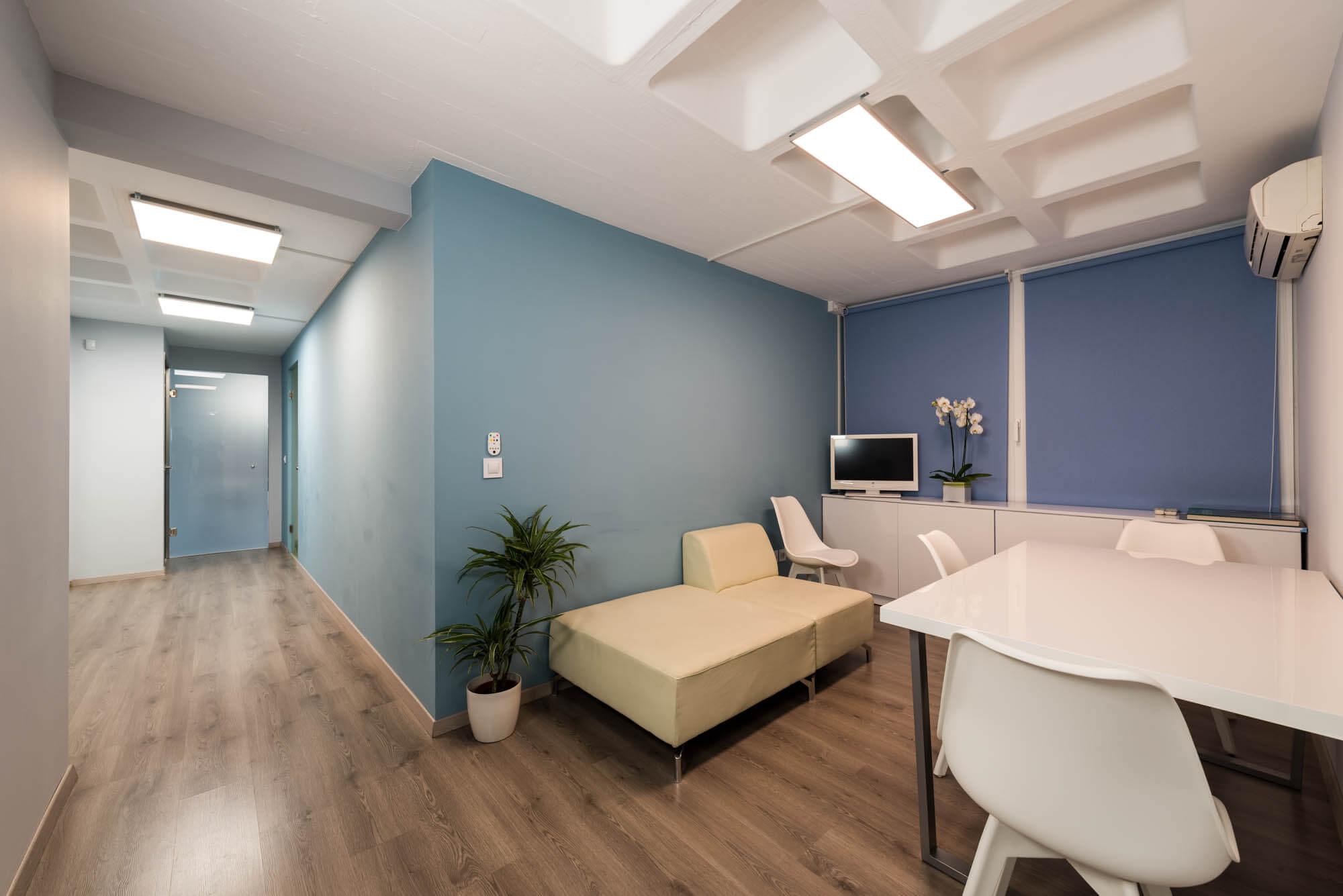 Χώρος ξεκούρασης & αναμονής Anastasakis Hair Clinic