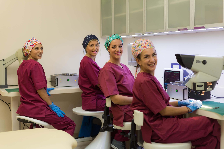 η ομάδα μας - ιατρική ομάδα - μικροβιολογικό εργαστήριο