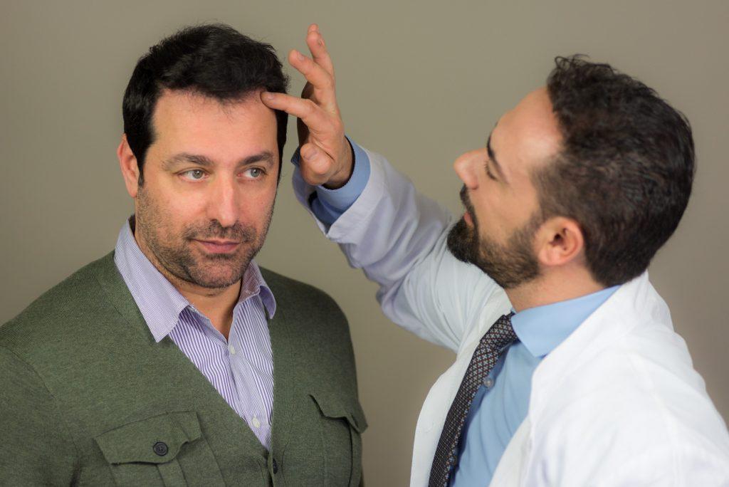 Αποτέλεσμα από τη Μεταμόσχευση Μαλλιών του Στέλιου Καλαθά