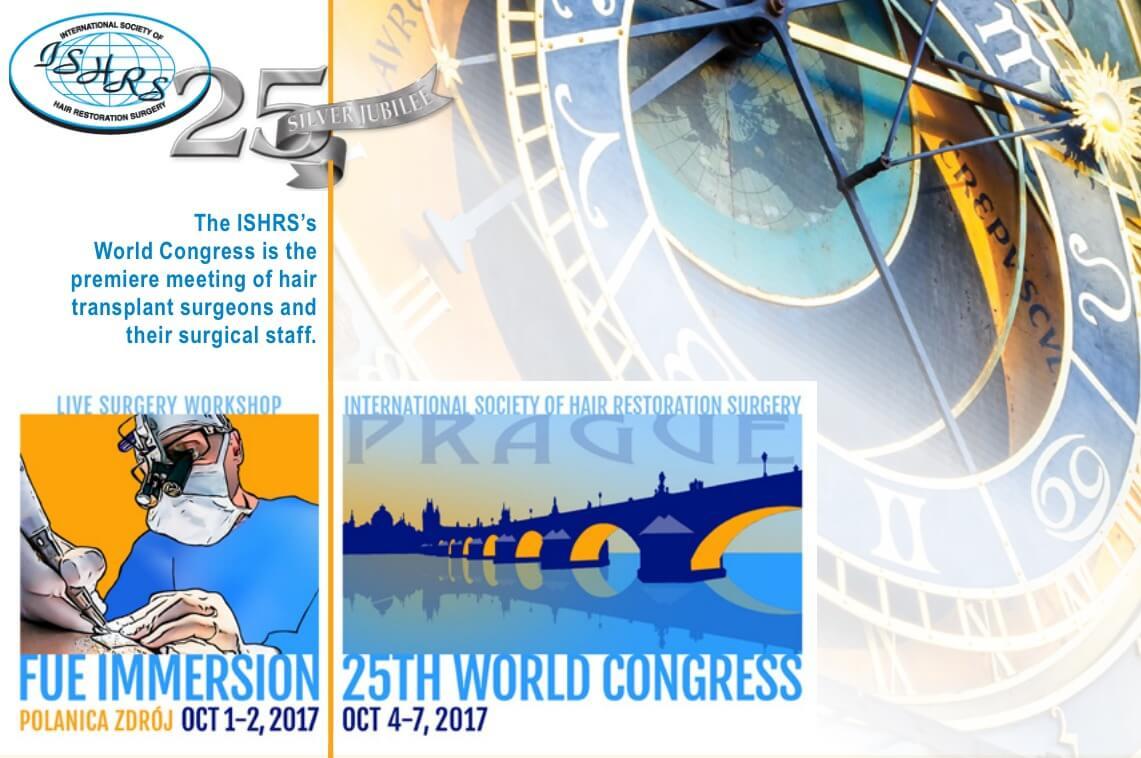 ISHRS παγκόσμιο συνέδριο στην Πράγα