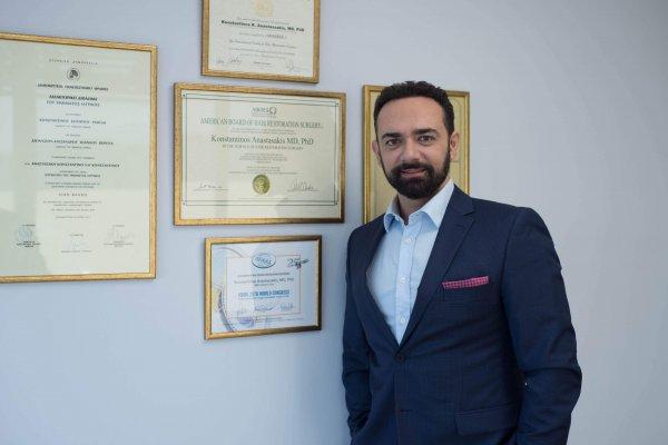 Dr.Κωνσταντίνος Αναστασάκης, ABHRS, ISHRS member