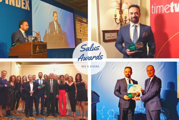 salus index awards 2019 βραβευση anastasakis hair clinic