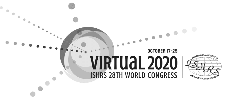 ISHRS VIRTUAL WORLD CONGRESS 2020- International Society of Hair Restoration Surgery