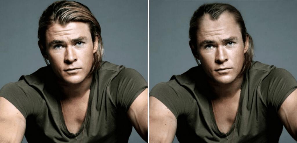 Celebrities Χωρίς μαλλιά: Chris Hemsworth