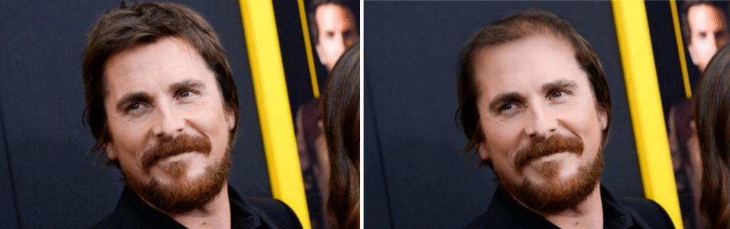 Celebrities χωρίς μαλλιά: Christian Bale