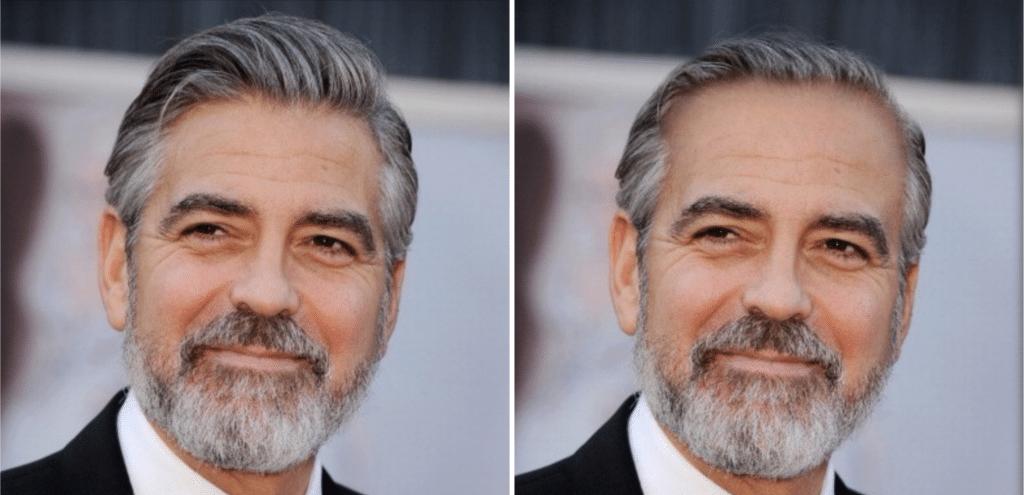 Celebrities χωρίς μαλλιά: George Clooney