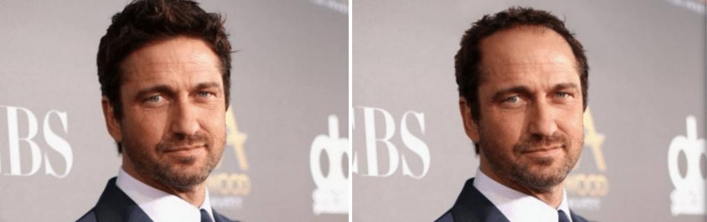 Celebrities χωρίς μαλλιά: Gerard Butler